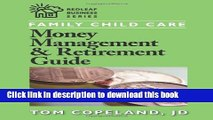 [Read PDF] Family Child Care Money Management and Retirement Guide (Redleaf Business Series) Ebook