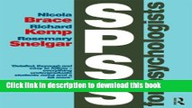 [Popular] Books SPSS for Psychologists: Fifth Edition Free Online