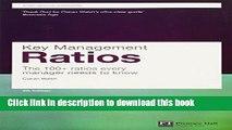 [PDF] Key Management Ratios (4th Edition) (Financial Times Series) [Full E-Books]