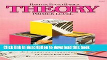 [Popular] Books WP205 - Bastien Piano Basics - Theory - Primer Level (Primer Level/Bastien Piano