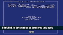 [PDF] Seven Brides for Seven Brothers (Movie Selections): Piano/Vocal/Chords Book Free