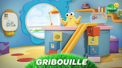 GRIBOUILLE  (épisode complet) - Le champion de glissade (nouveau dessin animé Piwi+)