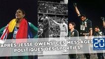 Après Jesse Owens devant Hitler, ces sportifs qui envoient des messages politiques