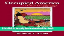 [Popular] Books Occupied America: A History of Chicanos (8th Edition) Full Online