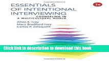[Popular] Books Essentials of Intentional Interviewing: Counseling in a Multicultural World Free