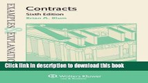 [Popular] Books Examples   Explanations: Contracts, Sixth Edition Full Online