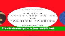 [Popular] Books Swatch Reference Guide for Fashion Fabrics Full Online