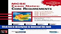 [Fresh] McSe Exam Notes: Core Requirements New Ebook
