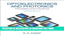 Download Optoelectronics   Photonics: Principles   Practices (2nd Edition) E-Book Online