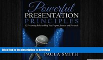 FAVORIT BOOK Powerful Presentation Principles: 52 Presenting Rules to Help You Prepare, Present