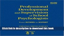 Ebooks Professional Development and Supervision of School Psychologists: From Intern to Expert