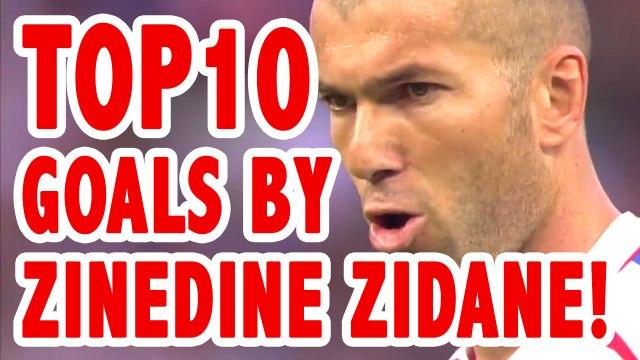 TOP 10 Goals by Zinedine Zidane La Liga - Sport Arena ᴴᴰ