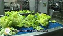 Santé: Il vaut mieux laver vos salades que de les acheter en sachet !