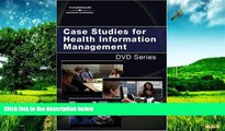 Must Have  Case Studies for Health Information Management DVD Series (Delmar s DVD)  READ Ebook