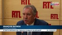 """François Bayrou propose la création d'un """"service national universel"""""""