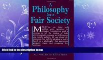 READ book  A Philosophy for a Fair Society (Georgist Paradigm series)  FREE BOOOK ONLINE
