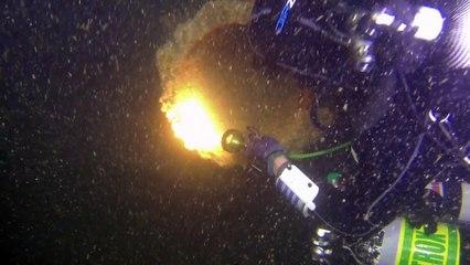 Première plongée sur le Vendémiaire