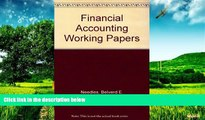 READ FREE FULL  Printed Working Papers: Used with ...Needles-Financial Accounting  READ Ebook