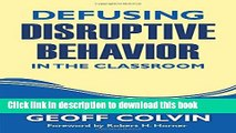 [Download] Defusing Disruptive Behavior in the Classroom Paperback Online
