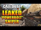 BO3 LEAKED WEAPONS GAMEPLAY: NEW POWER BOLT SNIPER RIFLE AND MP7 GAMEPLAY