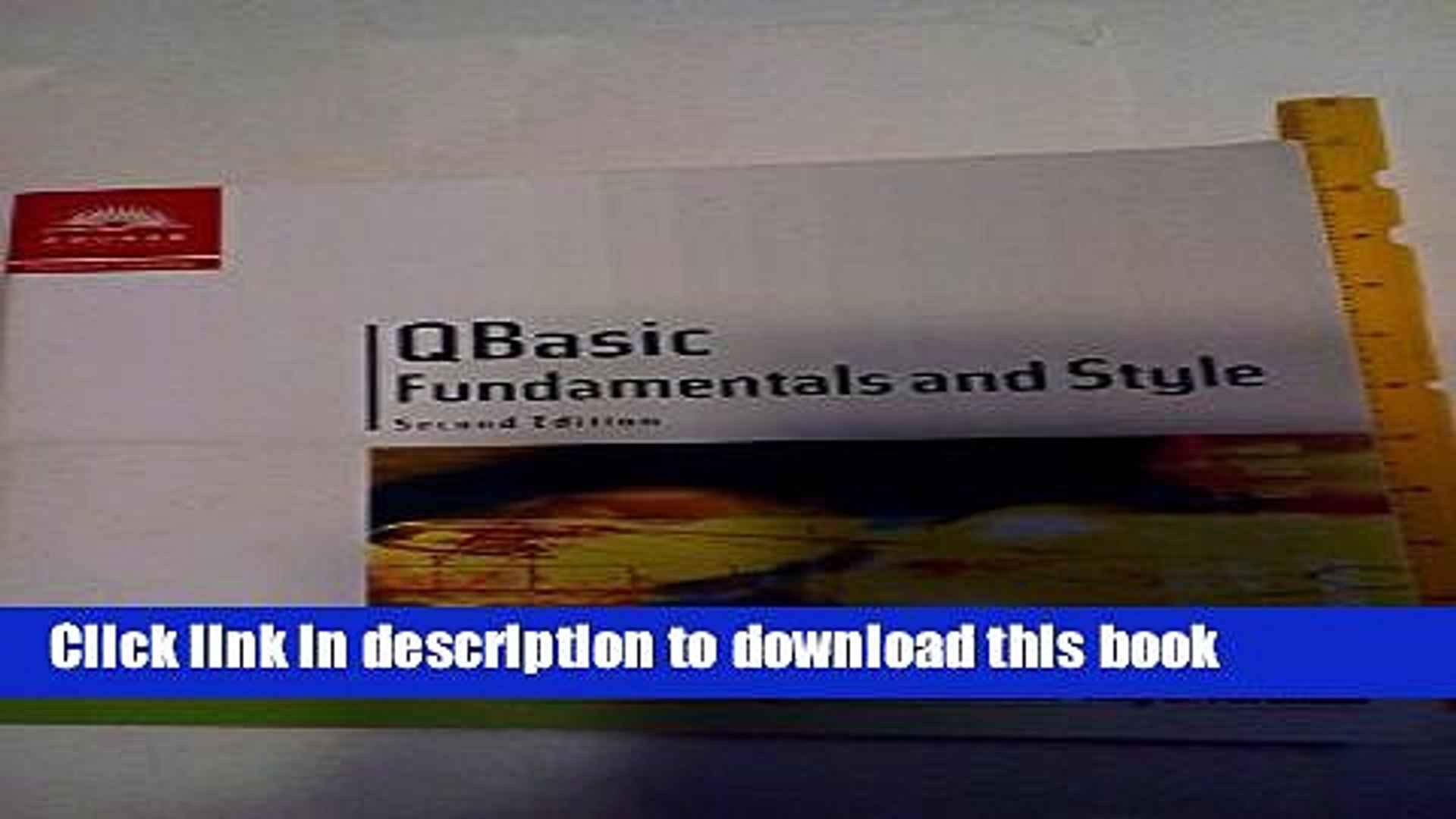 [PDF] QBasic Fundamentals and Style with an Introduction to Microsoft  Visual Basic, Second Edition