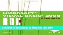 [PDF] Microsoft Visual Basic 2008: RELOADED (Visual Studio) E-Book Online