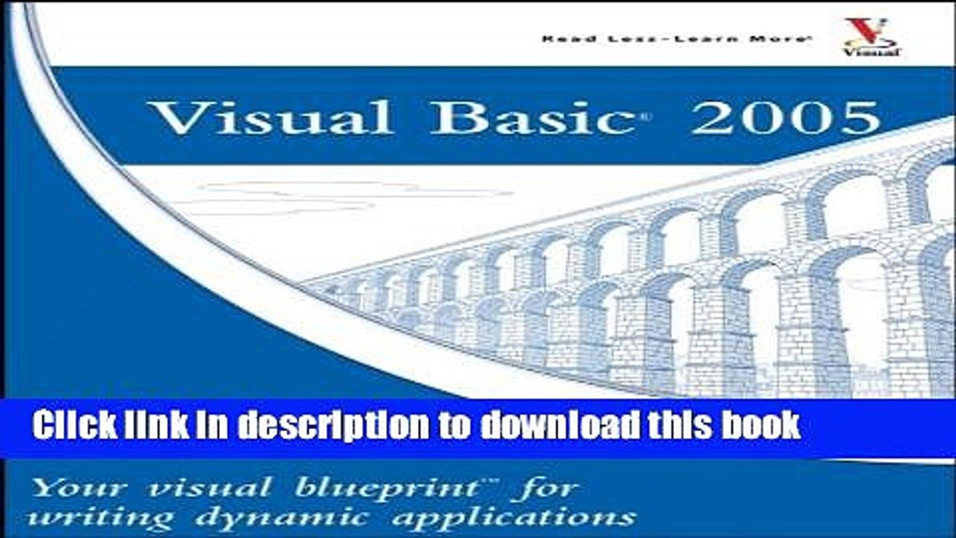 Visual Blueprint Visual Basic NET