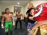 Los Guerreros meet Edge and Rey Mysterio backstage, WWE Smackdown 14.11.2002
