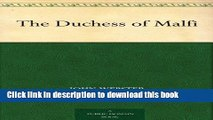 [Download] The Duchess of Malfi Paperback Online