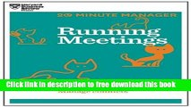 [Download] Running Meetings (HBR 20-Minute Manager Series) Hardcover {Free|