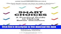 [Download] Smart Choices: A Practical Guide to Making Better Decisions Kindle {Free|