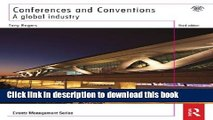 [Download] Conferences and Conventions 3rd edition: A Global Industry (Events Management) Kindle