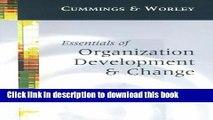 [Read PDF] Essentials of Organization Development and Change Ebook Free