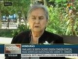 Honduras: exigen resolver el asesinato de lideresa Berta Cáceres