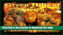 [Download] The Green Hills of Africa Paperback Collection
