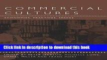 [PDF] Commercial Cultures: Economies, Practices, Spaces (Leisure, Consumption and Culture) E-Book