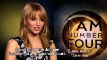 Numéro quatre VOST - Interview Dianna Agron