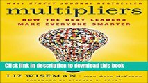[Popular] Multipliers: How the Best Leaders Make Everyone Smarter Paperback Free