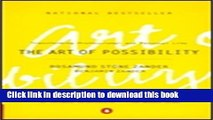 [Popular] The Art of Possibility: Transforming Professional and Personal Life Paperback Free