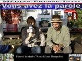 Télévision-Bordeaux-33 zad de la plantation contre  le golf  de villenave d'ornon  Féstival sherby Blanquefort