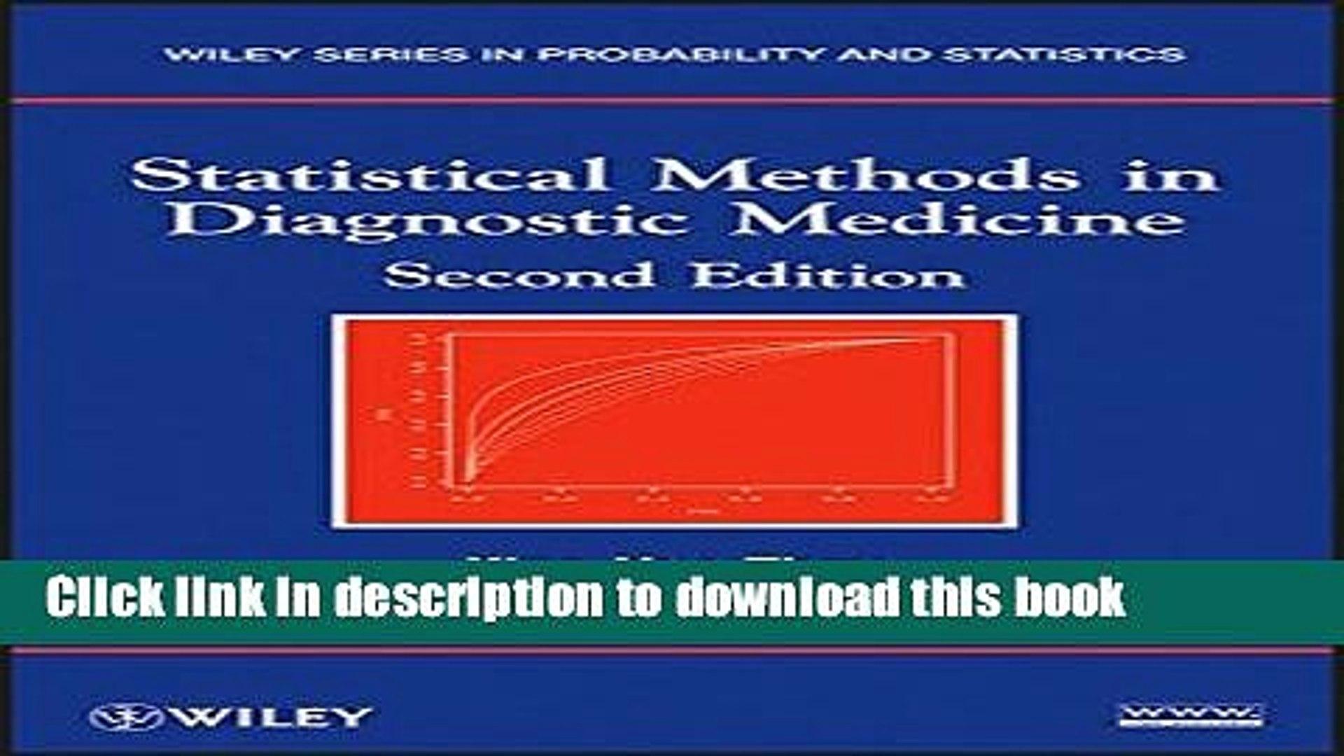 Statistical Methods in Diagnostic Medicine, Second Edition