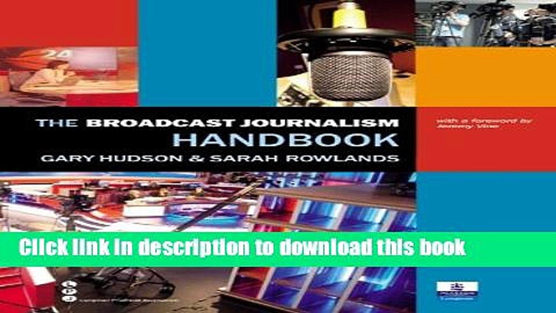 Download The Broadcast Journalism Handbook Book Free