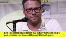 Seth Rogen on Katherine Heigl Comments