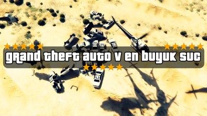 GTA V En Büyük Suç - Kısa Oyun Videoları #52