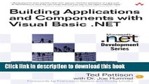 [PDF] Building Applications and Components with Visual Basic .NET Book Online