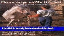 [Download] Dancing with Horses Kindle Free