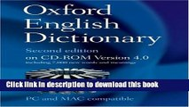 PDF] Oxford English Dictionary, 2nd Edition, Version 4 0