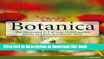 [PDF] Botanica: The Illustrated A-Z of over 10,000 Garden Plants and How to Cultivate Them