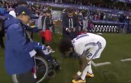 INCREDIBLE! Marcelo Gives his Boots to Disabled Real Madrid Fan after Winning UEFA Super Cup