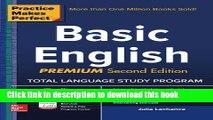 [Fresh] Practice Makes Perfect Basic English, Second Edition: (Beginner) 250 Exercises + 40 Audio